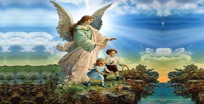 seu anjo da guarda te chamar