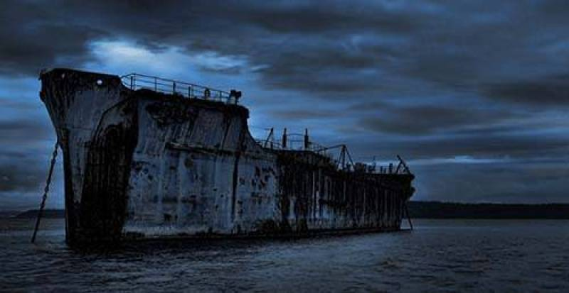 O objeto misterioso poderia ser um verdadeiro navio fantasma