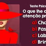 Teste Psicológico: A mulher e o vermelho! O que é mais importante?