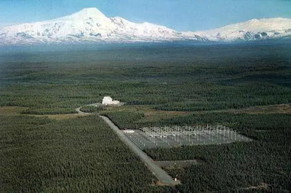 HAARP fica perto da Universidade do Alasca