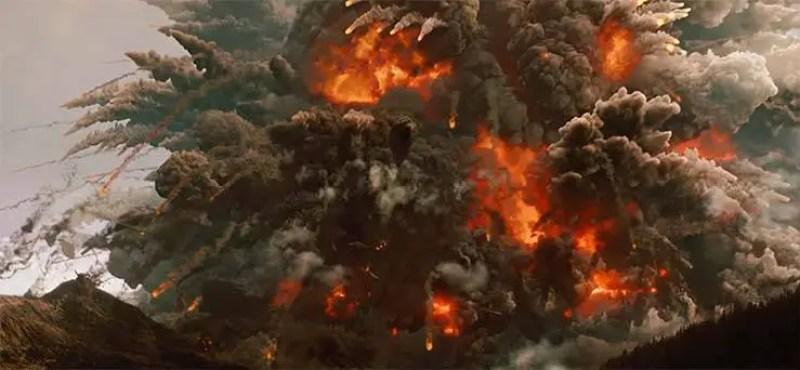 supervulcão yellowstone em erupção