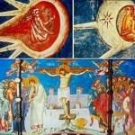 A Misteriosa Pintura Antiga Mostra Aliens na Crucificação de Cristo