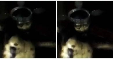 estátua de Jesus abriu os olhos