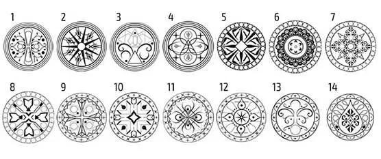 Mandala favorita e descubra o seu significado