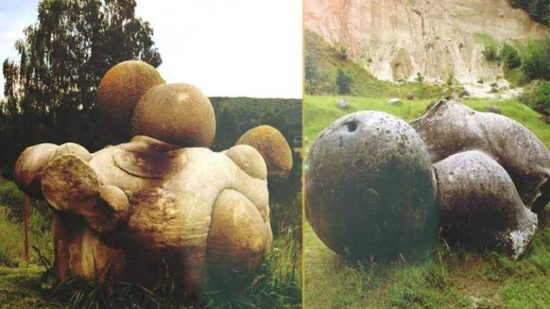 pedras que têm a capacidade de crescer e se mover