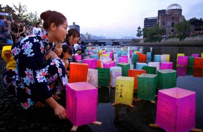 festival de Obon no Japão