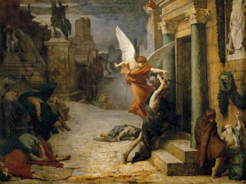 A Grande Peste que atingiu Roma em 1522