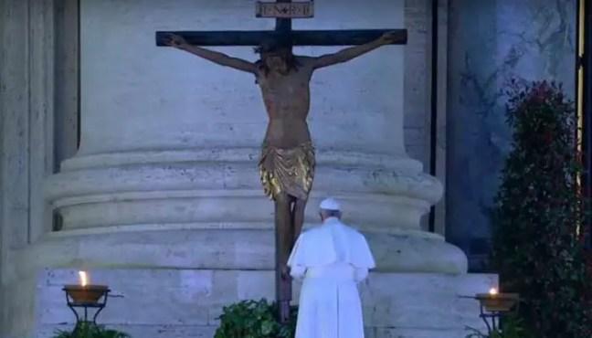 A oração do Papa Francisco ao Cristo de São Marcello