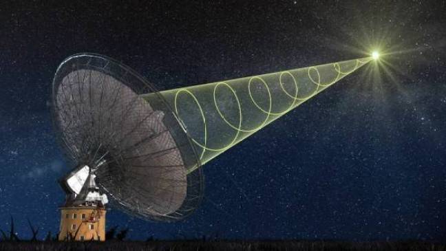 Vários radiotelescópios recebem um sinal misterioso de nossa galáxia
