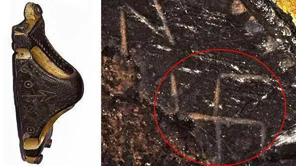 Punho da espada anglo-saxônica de prata dourada gravada com uma suástica é leiloada