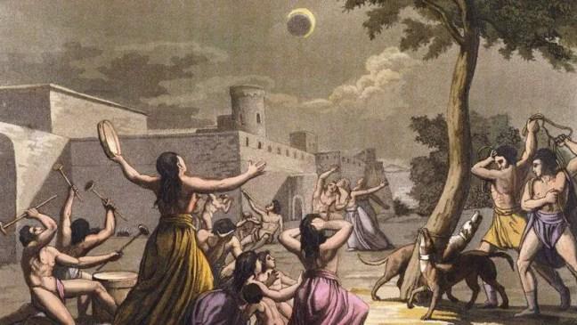 Os eclipses eram considerados um mau presságio para todas as culturas, em todos os lugares e todos os continentes até o início do século 20