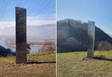 """Outro """"monólito misterioso"""" semelhante ao de Utah aparece, mas agora na Romênia"""