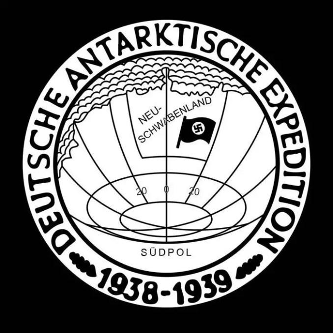 Medalha comemorativa concedida aos membros da expedição nazista à Antártica em outubro de 1939.