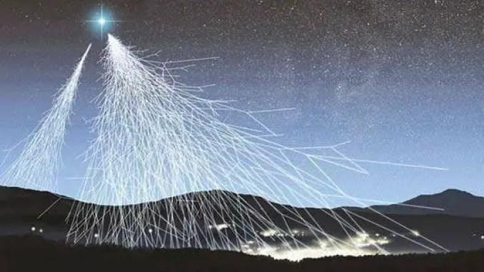 Um misterioso acelerador de partículas ataca a Terra com perigosos raios cósmicos.