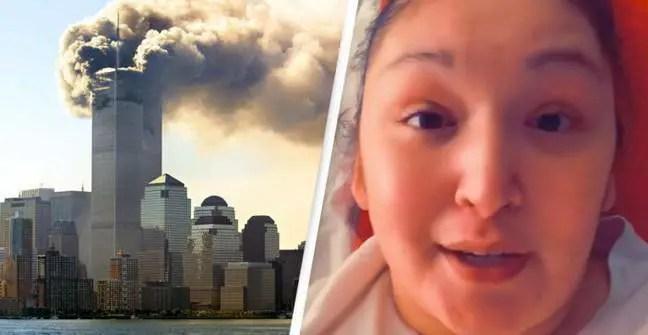 Riss então explicou que a criança nunca tinha ouvido falar sobre o 11 de setembro.
