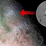 """Uma misteriosa """"estrutura"""" fotografada na cratera Aristarchus na lua"""