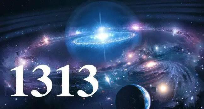 1313 significado no universo.