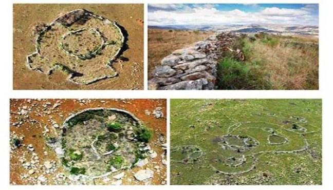 As semelhanças com as ruínas encontradas na África do Sul surpreendem os especialistas.