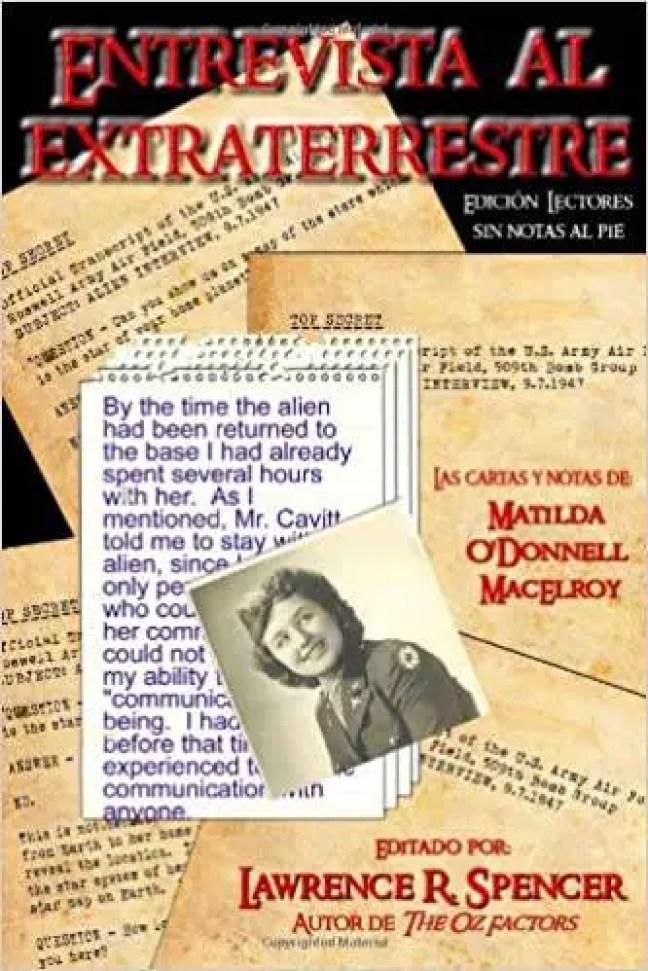 Capa do livro Entrevista com o Extraterrestre de Lawrence R. Spencer. Disponível na Amazon.