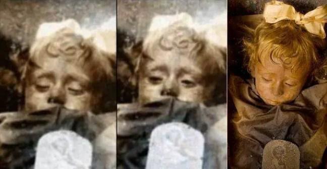 O mistério da criança morta há quase 100 anos pisca em seu caixão, permanece um mistério.