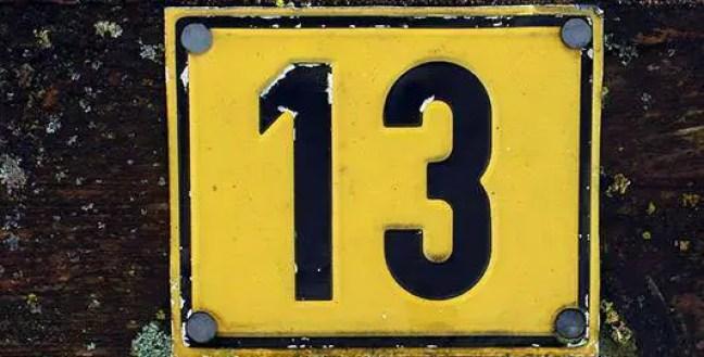 O que o número 13 representa