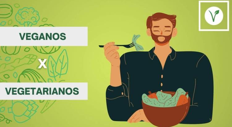 Dieta vegetariana x Dieta vegana