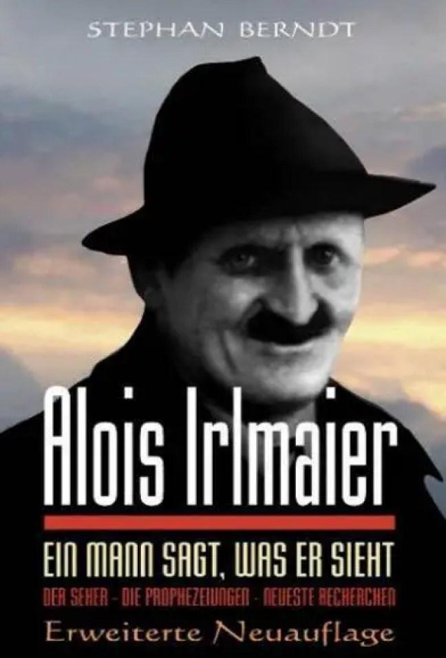 Capa do livro Alois Irlmaier por Stephan Berndt.