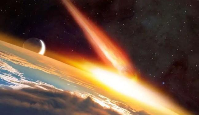 Cometa de 370 quilômetros de largura se dirige para a Terra