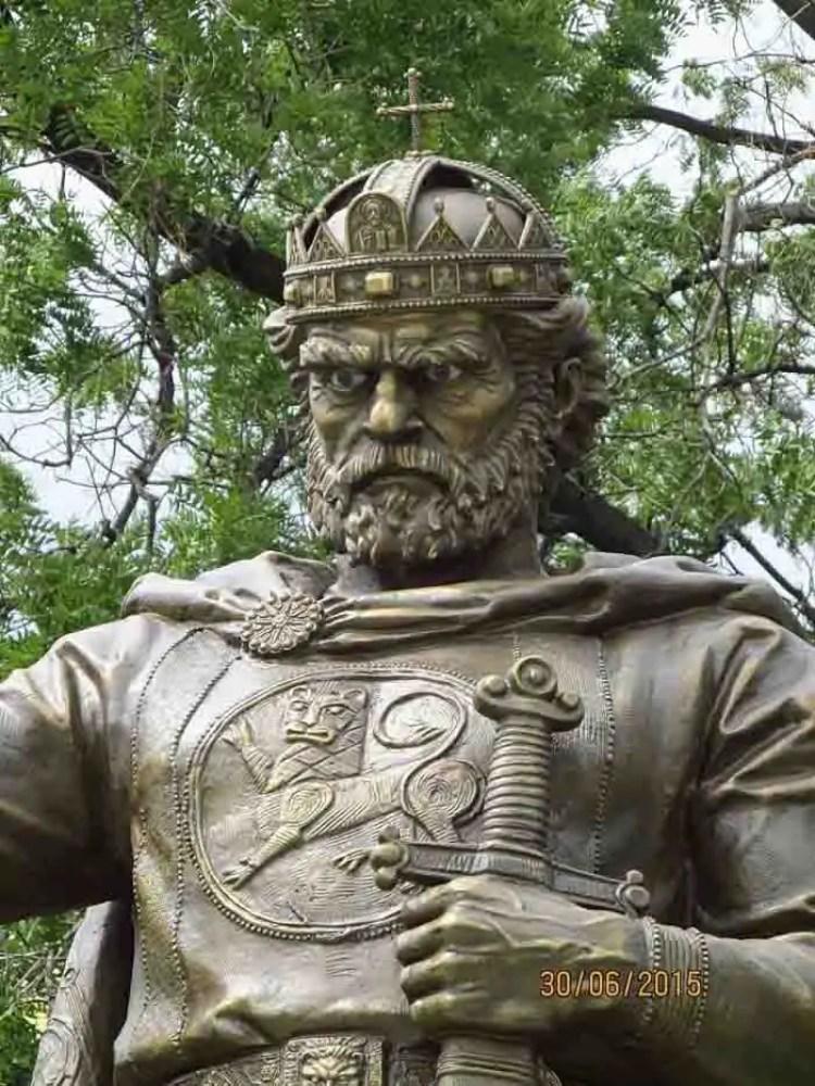 O Czar Samuel da Bulgária, cuja história deu início à Operação Raio Solar.