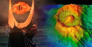 O Olho de Sauron e outras estruturas do fundo do mar são descobertos em Mordor subaquático
