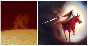 O sol revela ao mundo o Cavaleiro Vermelho do apocalipse e agora o cenário é a guerra