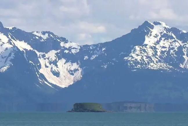Será uma Fata Morgana registrada recentemente no Alasca?