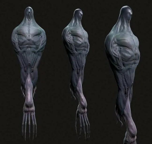 Os heptápodes são uma espécie extraterrestre sapiente que viaja pelo espaço.