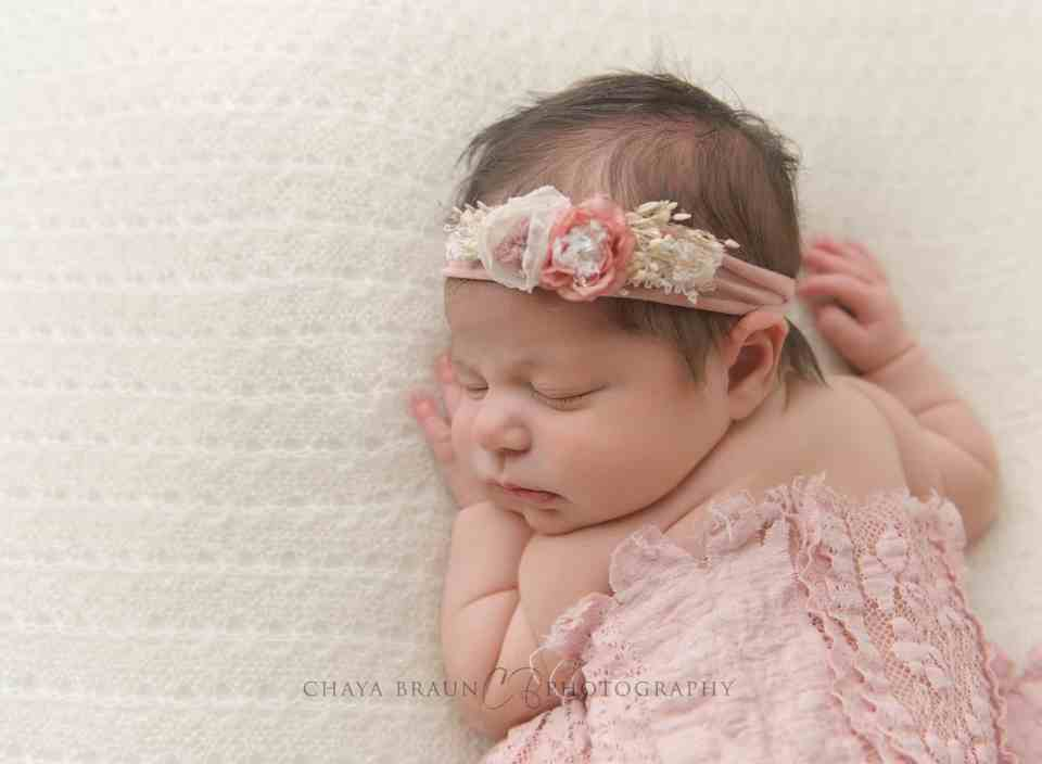 beautiful newborn baby girl