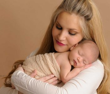 mother and newborn gorgeous photo