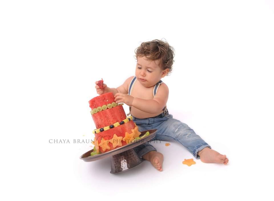watermelon honeydew cantaloupe cake