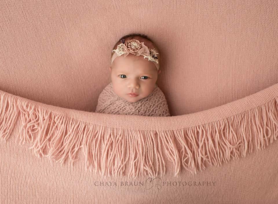 awake newborn baby photo
