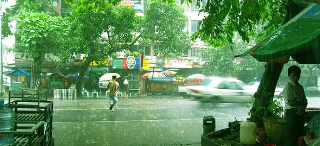 thick rainy season , പെരുമഴ