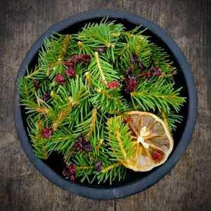 Органический хвойный чай