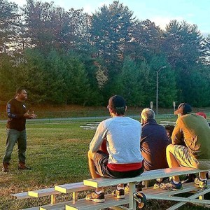 Chaz Jackson Motivational Youth Speaker Speaking to Gladiators Football Team