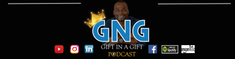 GNG Podcast Logo with Icons