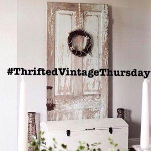 Yay!! Its the first week of thriftedvintagethursday and we wanthellip