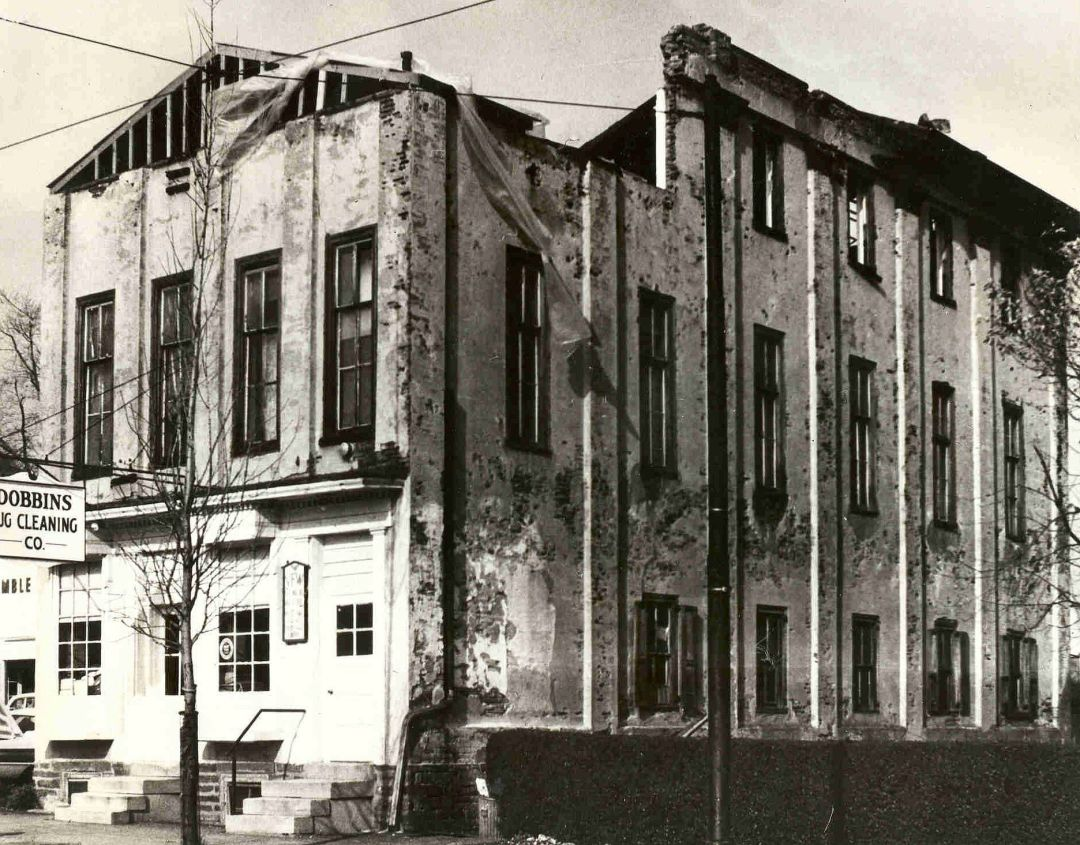 1966 – Committee organizes to preserve the VFW building; rehabilitation is completed by 1970