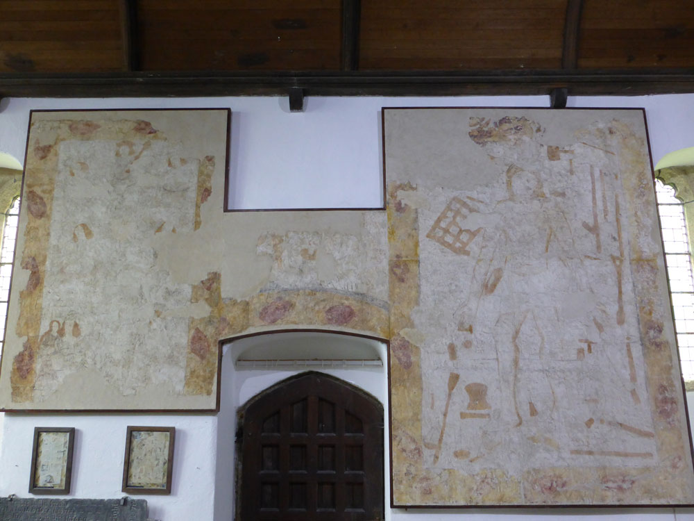 Poundstock-Wall-paintings-St-Winwaloe