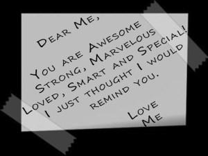 love letter for me