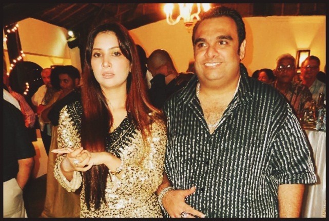Ali punjani and Kim sharma