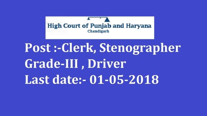 Punjab and Haryana High Court - Copy