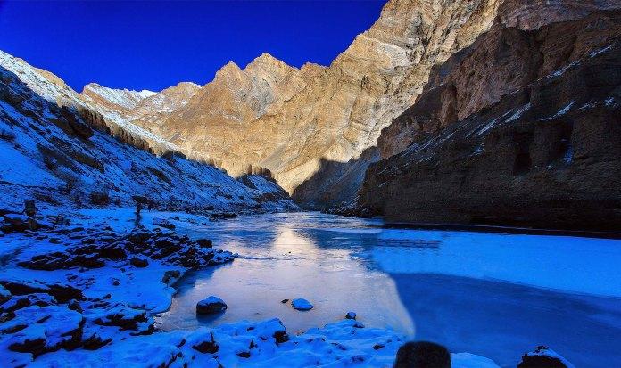 Chadar lake