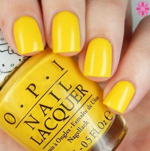 sunshine nail colour