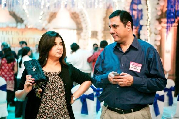 Farah and Boman Irani